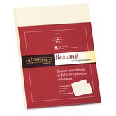 Resume Presentation Envelopes, 9 x 12, 25/Pack, Ivory