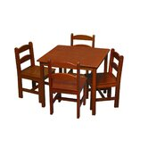 Kids 5 Piece Table and Chair Set