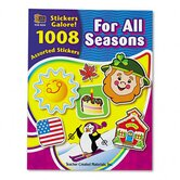 Sticker Book for All Seasons, 1,008/Pack