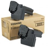 T2500 Toner, 7500 Page-Yield, 2/Pack