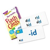 Word Families Skill Drill Flash Cards