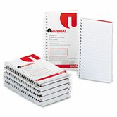 Wirebound Memo Books, Narrow Rule, 3 x 5, White, 12 50-Sheet Pads/pack