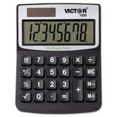 Solar/Battery Minidesk Calculator, 8-Digit Display