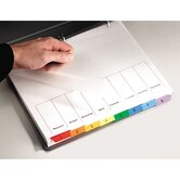 Multi-Dex Index Assorted Color 8-Tab, 1-8, Letter (Set of 8)