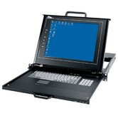 Rackmount with LCD, Keyboard and Touchpad