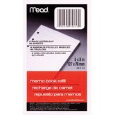80 Sheet 3&quot; x 5&quot; Memo Book Refill