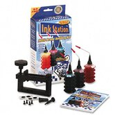 60391 InkStation Refilling Kit, Cap Remover, Tri-Color