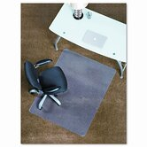 45X53 Lip Chair Mat, Professional Series Anchorbar For Carpet Up To 3/4&quot;