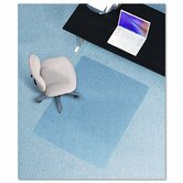 36X48 Lip Chair Mat, Multi-Task Series Anchorbar For Carpet Up To 3/8&quot;