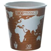 World Art Renewable Resource Compostable Hot Drink Cup
