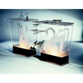 Legend Swan Acrylic Bar Set