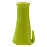 Dignity Bud Vase / Menu Holder in Green