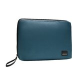 Classic Canvas Laptop Sleeve in Teal