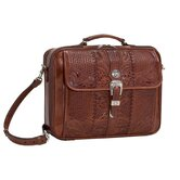 Retro Romance Travel Laptop Briefcase