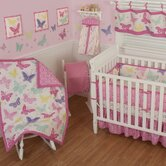 Butterfly Block Crib Bedding Collection