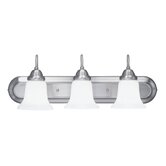 Eloquence  Vanity Light in Brushed Nickel