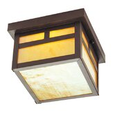 Montclair Mission Outdoor Flush Mount in Bronze