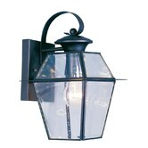 Westover Outdoor Wall Lantern in Black