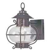 Harbor 11.25&quot;  Outdoor Wall Lantern in Bronze
