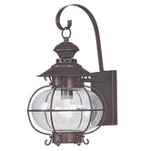 Harbor  Outdoor Wall Lantern in Bronze