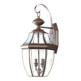Monterey Outdoor Wall Lantern in Imperial Bronze