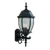 Kingston  Outdoor Wall Lantern in Black