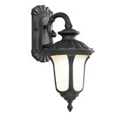 Oxford  Outdoor Wall Lantern in Black