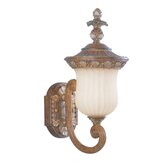 Savannah  Outdoor Wall Lantern in Venetian Patina