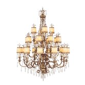 La Bella 22 Light Chandelier