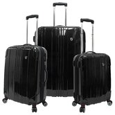 Sedona 3 Piece Hardsided Expandable Luggage Set
