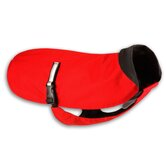 Rainwear Waterproof Breathable Red Dog Coat