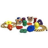 Lacing Beads and Shapes Set