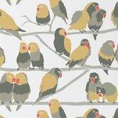 Lovebirds Wallpaper (Set of 2)