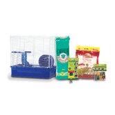 Home Sweet Home Hamster Cage Starter Kit with LM Farms Food