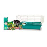 Home Sweet Home Rabbit Cage Starter Kit with F.M. Brown's Food