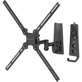 Dual Arm Full Motion Plus Flat Panel Mount