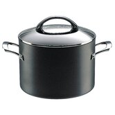 Professional Hard Anodized 24 cm Non-Stick Covered Stockpot
