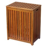 Wood Spa Hamper