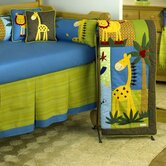 Paradise Crib 4 Piece Bedding Set