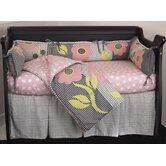 Poppy 4 Piece Crib Bedding Set