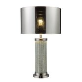 Mont Alto Table Lamp in Chrome And Mirror