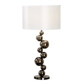 Cleona Table Lamp in Black Chrome