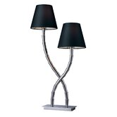 Trump Home Park Avenue Table Lamp in Chrome