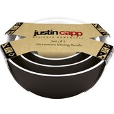 Justin Capp Ceramic Mixing Bowls (Set of 3)