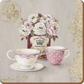 Opulence Finest Tea Square Coasters (Set of 4)
