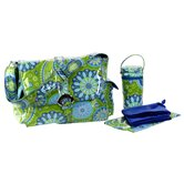 Laminated Buckle Diaper Bag Clutch Set