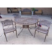 Sunray Mississippi 5 Piece Dining Set