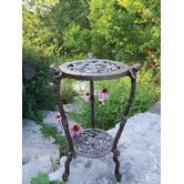 Frog Table Round Stand Planter