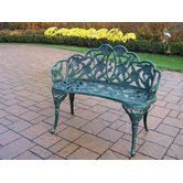 Lily Garden Décor Bench