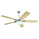 "56"" Bel Air 5 Blade Ceiling Fan with Remote"